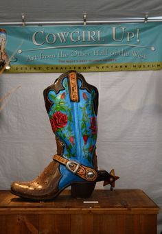 The Boot Permanent Collection of  Desert Caballeros Western Museum, Wickenburg, AZ Judith Durr and Roger Kull