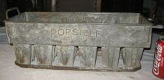 ANTIQUE PRIMITIVE SOLID COPPER INDUSTRIAL POPSICLE STORE MOLD ICE CREAM SIGN