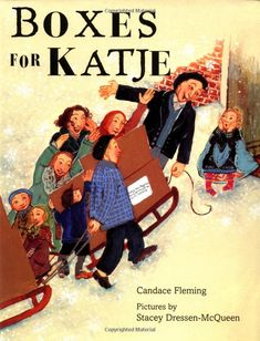 Boxes for Katje by Candace Fleming : A story of post WWII Holland and a girl in Holland who is befriended by a girl in Indiana. #Books #Kids #Boxes_for_Katje #Candace_Fleming #Reading_Rainbow