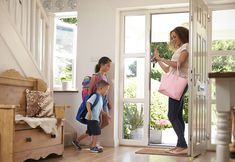 Buy Children Leaving Home For School With Mother by monkeybusiness on PhotoDune. Children Leaving Home For School With Mother Child And Child, Your Child, Leaving Home, Gps Tracking, Female Girl, Monkey Business, Black Boys, Child Safety, Black Backpack