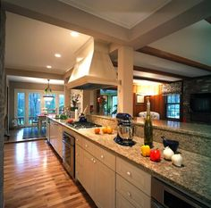 2c3363185f remodeled galley kitchen Open Galley Kitchen