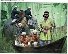 Historical Warrior Illustration Series Part XVII | The Lost Treasure Chest