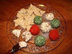 Festive Mini Cheese Balls