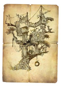 Tree House by ~yaniv shimony~יניב שמעוני, via Flickr