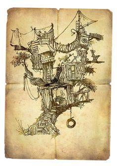 Tree House by ~yaniv shimony~יניב שמעוני, via Flickr