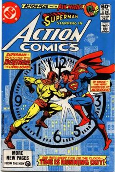 Clock - Neutron - Superman - Daily Planet - Dick Giordano, Ross Andru
