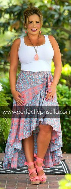 #skirt #paisley #summer Spring #fashion