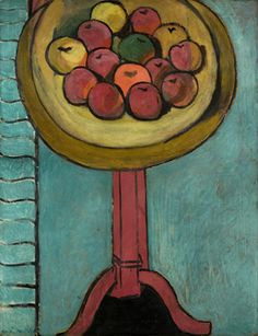 Henri Matisse - Fauvisme - Bowl of Apples on a Table, 1916 Modern Art, Art Painting, Artist Inspiration, Fauvist, Matisse Art, Metropolitan Museum Of Art, Painting, Art, Art Movement