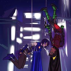 Raven Fanart, Robin And Raven, Original Teen Titans, Robin Comics, Damian Wayne, Young Justice, Marvel Dc, Fan Art, Memes