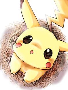 pikachu, pokemon, and kawaii image Kawaii Drawings, Cute Drawings, Pokemon Go, Pokemon Fusion, Pokemon Cards, Pokemon Mignon, Cute Pikachu, Pikachu Art, Pikachu Drawing