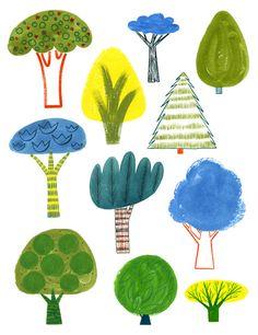 Ali Douglass - Trees