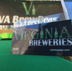 All set up for HOPS in the PARK at @henricushistoricalpark. We are introducing the all new 2016 #VABrewPass today!!! Come see us! #vabeer #vacraftbeer
