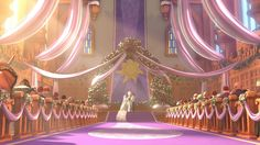 Tangled wedding