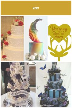 Availability of cake decorators may be limited at the bakery of your choice. An early chat with the cake baker to discuss the design and flavour is a smart move and ought to be done a minimum of 6 months prior to the set date hence providing him/her lots of time to create the perfect wedding cake. #weddingcakessimple crazy wedding cakes Crazy Wedding Cakes, Designer Wedding Dresses, 6 Months, Perfect Wedding, Cake Decorating, Bakery, Create, Simple, 6 Mo