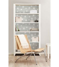 WallPops® NuWallpaper™ Grey Stardust Peel & Stick Wallpaper | Online Only Product