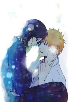 Find images and videos about love, anime and kawaii on We Heart It - the app to get lost in what you love. Bleach Ichigo And Rukia, Kuchiki Rukia, Bleach Manga, Shinigami, Geeks, Anime Manga, Anime Art, Otaku Anime, Bleach Couples