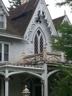1000 Images About Exterior Gothic Revival On Pinterest