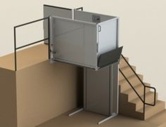 Symmetry Vertical Platform Lift - A vertical platform lift is a cost-effective way to add wheelchair accessibility to your home or public facility. Generally, vertical platform lifts are more space-conscious and visually appealing than ramps. Platform lifts can be outdoor or indoor, enclosed or open, stationary or portable, for maximum flexibility.