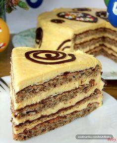 Za Uskrs smo uživali u ovoj divnoj torti. Dobos Torte Recipe, Torta Recipe, Torte Cake, Baking Recipes, Cake Recipes, Dessert Recipes, Croation Recipes, Chocolate Ganache Tart, Kolaci I Torte