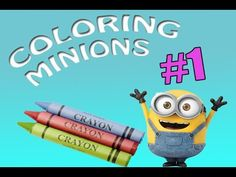 Coloring Minions #1 Coloring Book For Kids/ Maya TZ