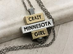 The 212 west Lake & Life Collection is now available, and we hope to see all the strong, bold, unique & expressive Minnesota Girls building their customizable necklace at 212west.com!