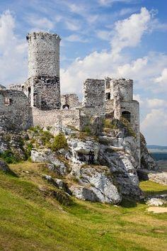 Ogrodzieniec Castle, Poland.  Banco de Imagens - 16624798