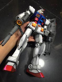 Custom Build: Mega Size RX-78-2 Gundam [Anime Art Paint Job] - Gundam Kits…