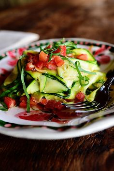 Zucchini Noodles by thepioneerwoman #Zucchini_Noodles #Zoodles #Healthy #Easy