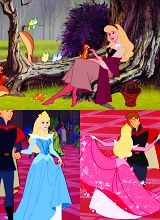 *PRINCESS ARORA & PRINCE PHILLIP ~ Sleeping Beauty, 1959. they are SOO meant for each other
