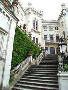 Miramare Castle - Trieste, Friuli-Venezia Giulia, Italy