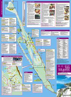 Isla Hotel Map Maps