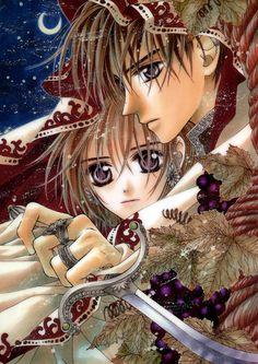 Toraware no Minoue, Captive Hearts manga by Matsuri Hino