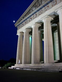 The Parthenon in Nashville, Tennessee stands in Centennial Park. The structure was constructed for the 1897 Centennial Exposition as an original replica of the structure from Athens, Greece. This landmark is a major attraction in the Nashville, Tennessee are for anyones next trip or vacation (https://www.facebook.com/TravelingWarrior)