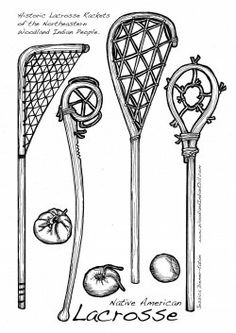 Lacrosse was born in North America and first played by many Native American Nations, especially by the Native People of the Eastern Woodlands,...