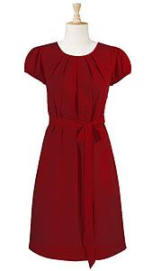 My homecoming dress: mid-calf length and 3/4 sleeve. ;)  Perfect for fall!