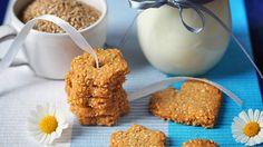 Sezamové sušenky Foto: Cereal, Muffins, Baking, Breakfast, Food, Bread Making, Muffin, Meal, Patisserie