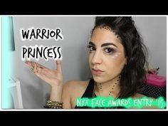 Warrior Princess Makeup Look  NYX Face Awards '15 - #warriorprincess #makeupart #makeuptutorial #nyx - Bellashoot.com (iPhone, iPad & Web)