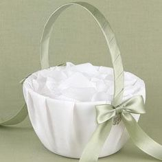 Make Your Own Flower Girl Basket Three Plastic Containers A Glue Gun