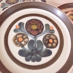 Vintage Mayflower Lunch Plates Set Of 5 by EchoesInTimeVintage