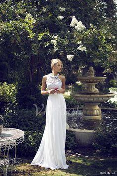 Brautkleider - $131.99 - Empire-Linie U-Ausschnitt Bodenlang Chiffon Brautkleid mit Perlen verziert Applikationen Spitze Blumen (00205003574)