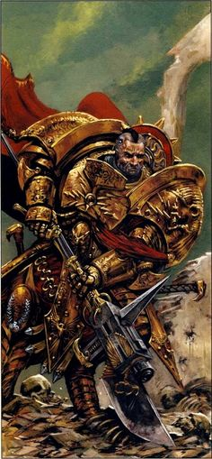 Constantin Valdor, the Captain-General and Chief Custodian of the Legio Custodes during the Horus Heresy