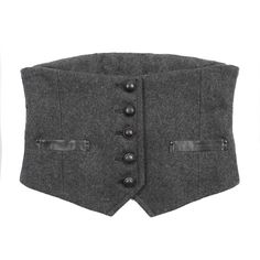 I always felt that waist vests like this would be a cool style on men.