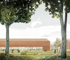 Pablo Pita Architects · New Aarhus School of Architecture Competition