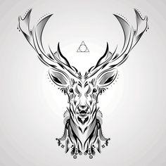 Deer Vector Art — Rebelarts