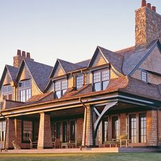 14 Knockout Shingle Style Homes : Architectural Digest