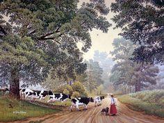 JohnSloaneArt.com - John Sloane - Gallery - The Way Home