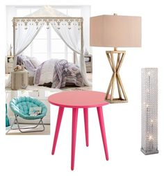 """""""things to put in a girl cave"""" by caitlynodell ❤ liked on Polyvore featuring interior, interiors, interior design, home, home decor, interior decorating, PBteen and Catalina"""