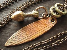 Bronze Lariat by Celie Fago, via Flickr
