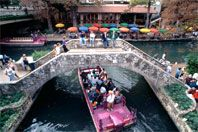 San Antonio, TX- fun vacation spot for couples or families. Very affordable- great food and lots to do!