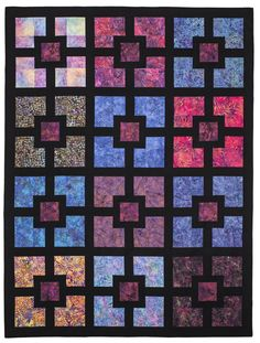 Hole in the Wall: Eleanor Burns Signature Pattern - Quilt in a Day Books  This is hot!